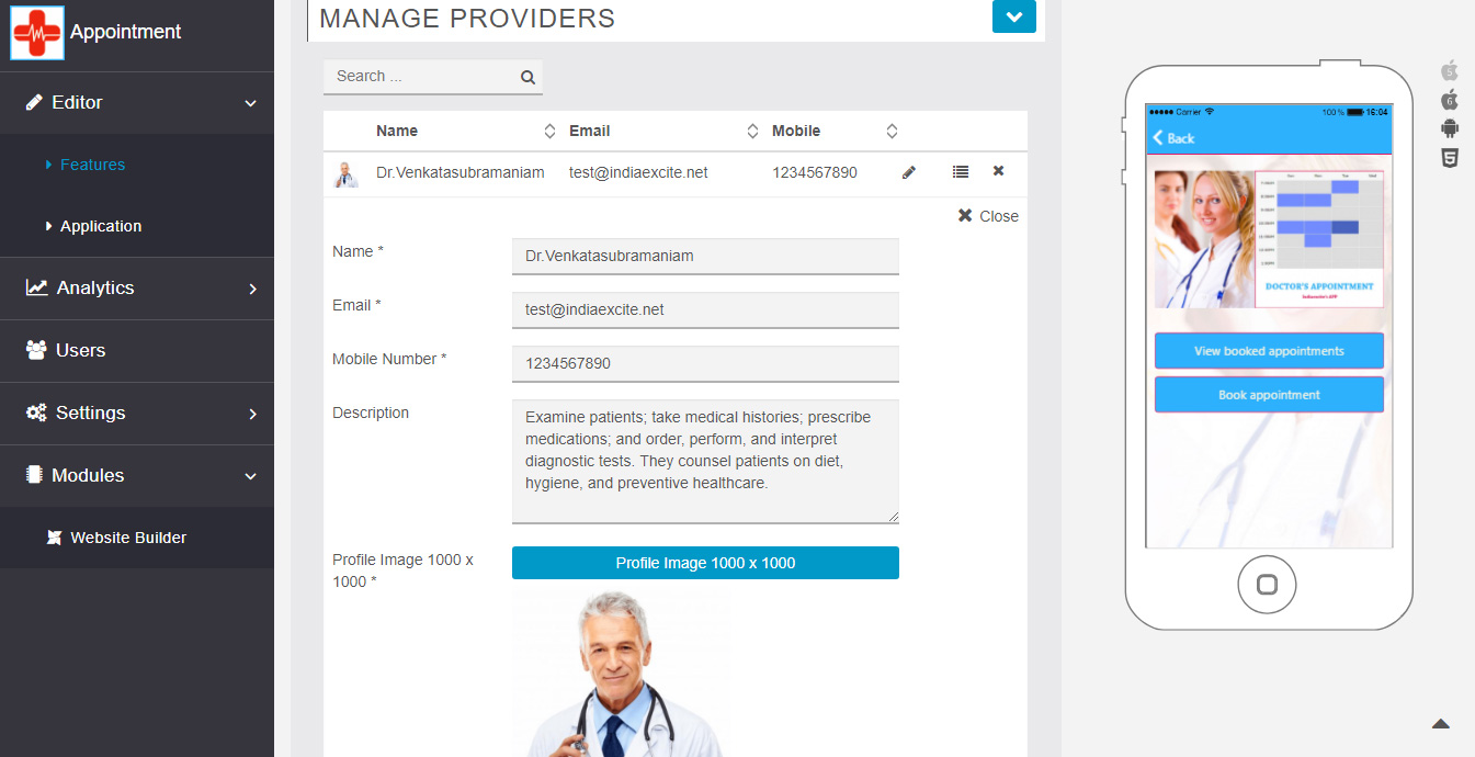 Manage Service Providers